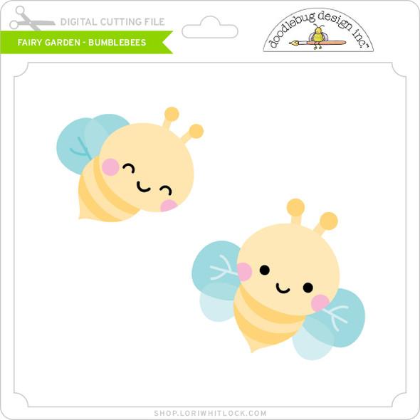 Fairy Garden - Bumblebees