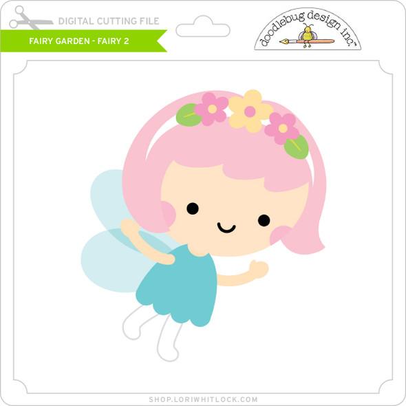 Fairy Garden - Fairy 2