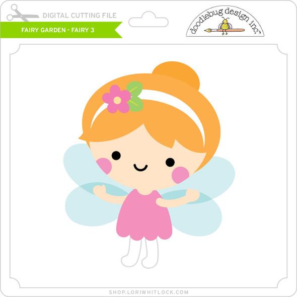 Fairy Garden - Fairy 3