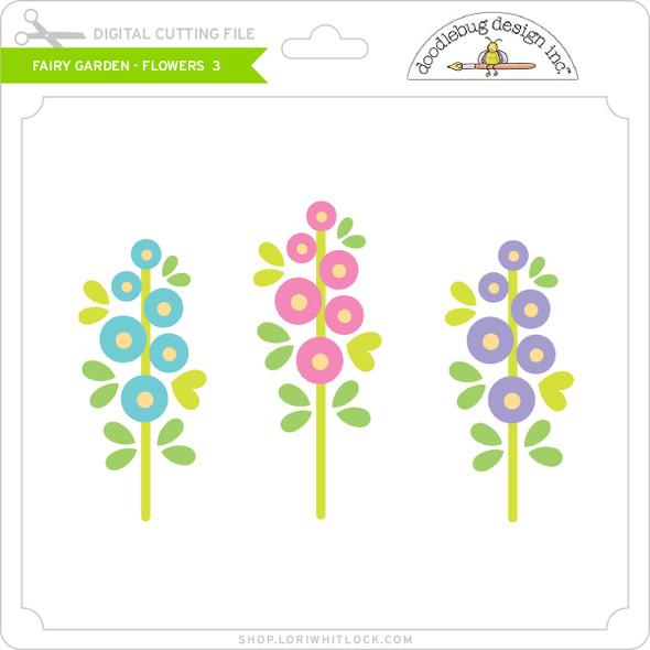 Fairy Garden - Flowers 3