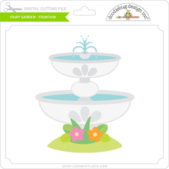 Fairy Garden - Fountain