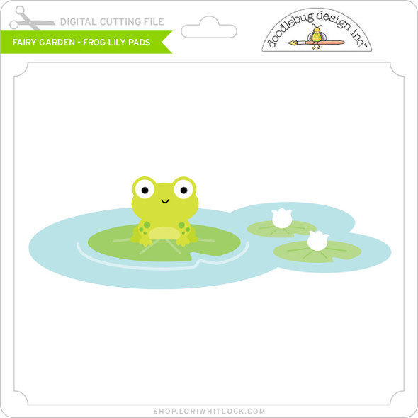 Fairy Garden - Frog Lily Pads