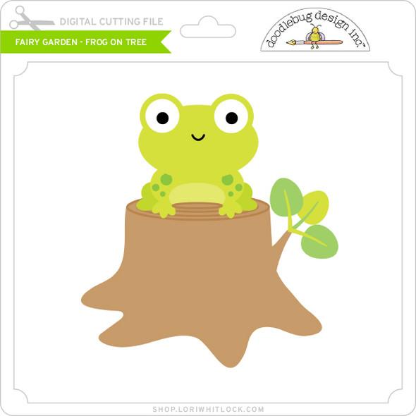 Fairy Garden - Frog on Tree