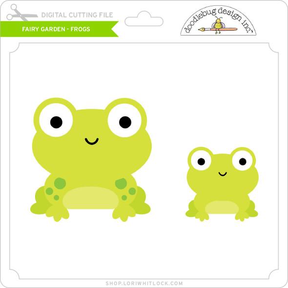 Fairy Garden - Frogs