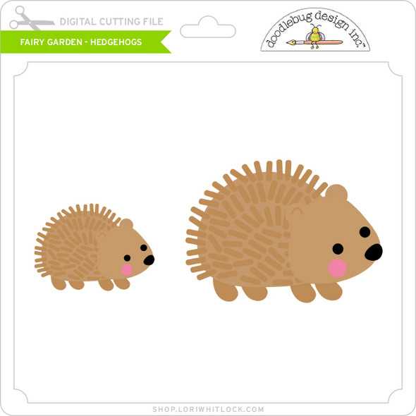 Fairy Garden - Hedgehogs