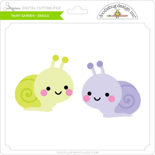 Fairy Garden - Snails