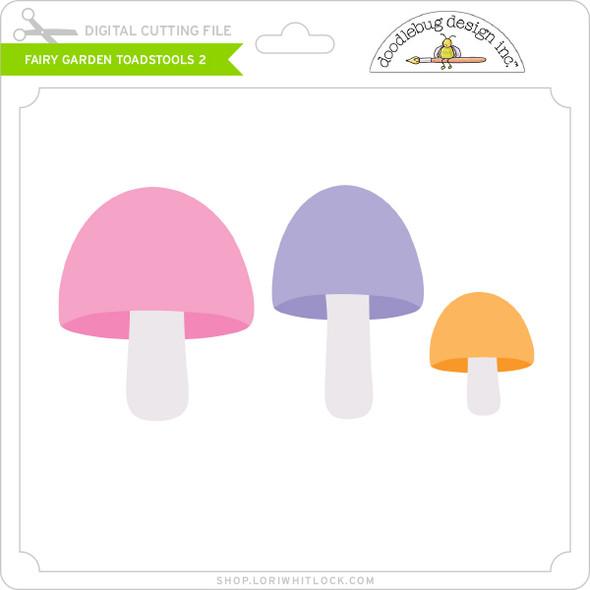 Fairy Garden - Toadstools 2