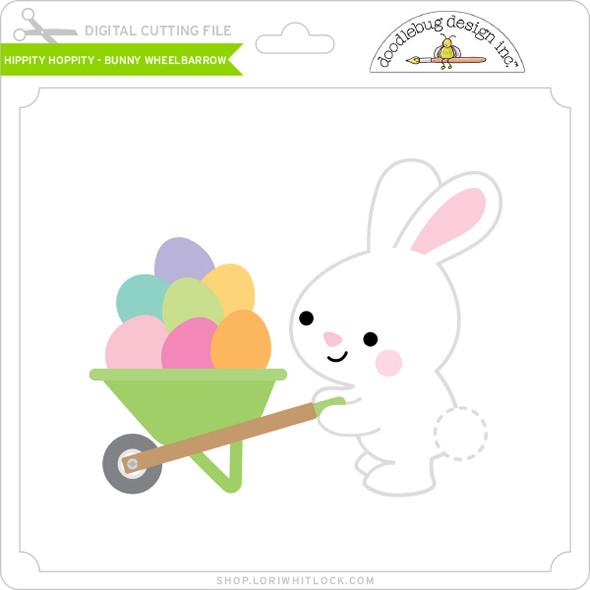 Hippity Hoppity - Bunny Wheelbarrow