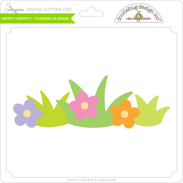Hippity Hoppity - Flowers in Grass