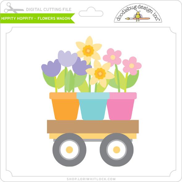 Hippity Hoppity - Flowers Wagon