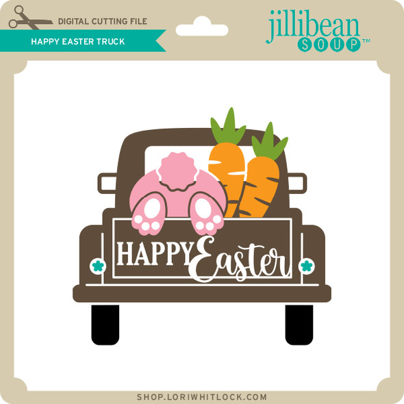 Happy Easter Truck