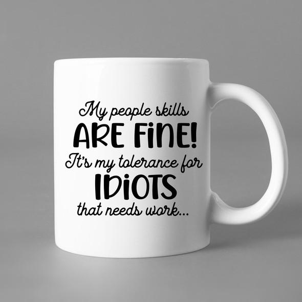 My People Skills are Fine