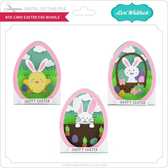 Box Card Easter Egg Bundle