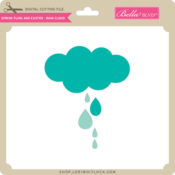 Spring Fling and Easter - Rain Cloud