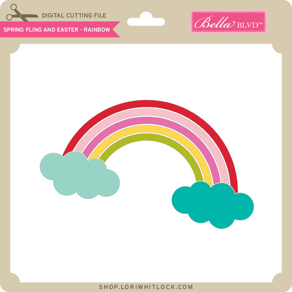 Spring Fling and Easter - Rainbow