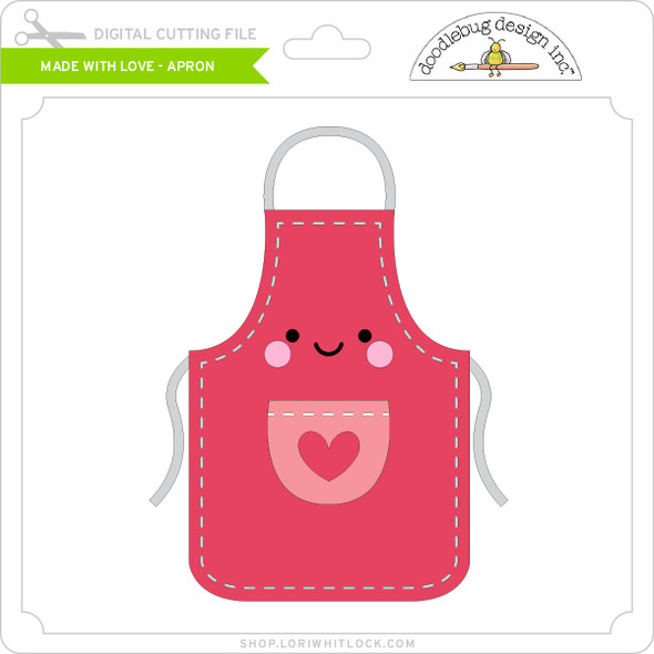 Made with Love - Apron