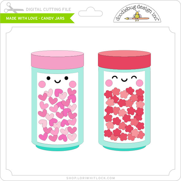 Made with Love - Candy Jars