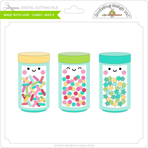 Made with Love - Candy Jars 2