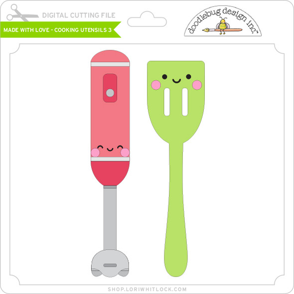 Made with Love - Cooking Utensils 3
