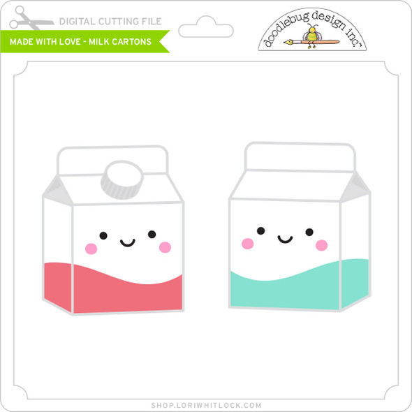 Made with Love - Milk Cartons