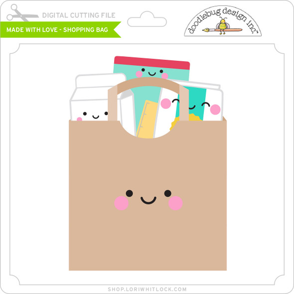 Made with Love - Shopping Bag
