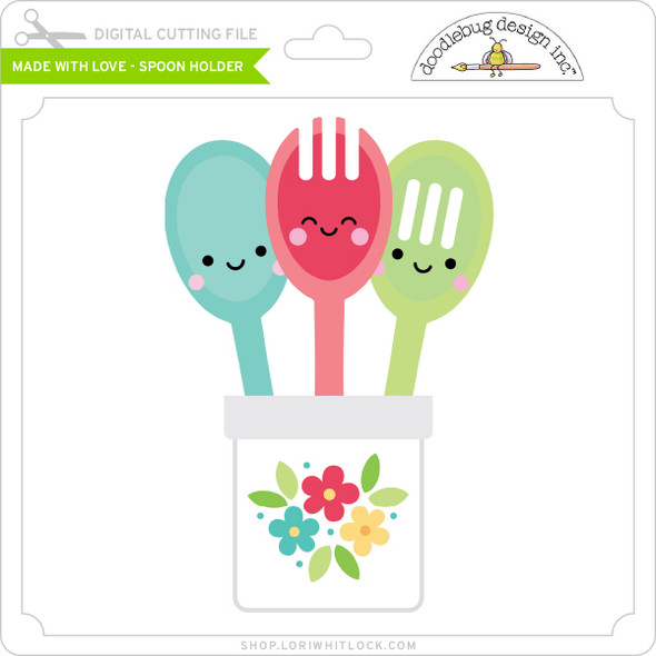 Made with Love - Spoon Holder