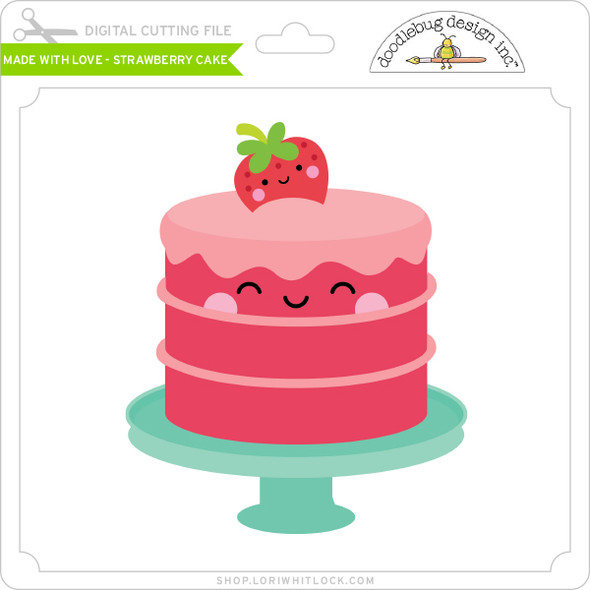 Made with Love - Strawberry Cake