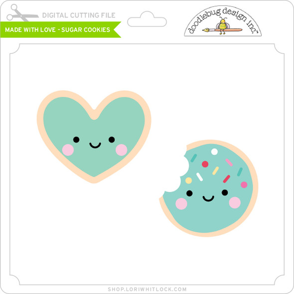 Made with Love - Sugar Cookies