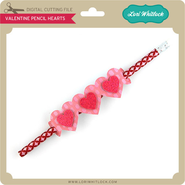Valentine Pencil Hearts