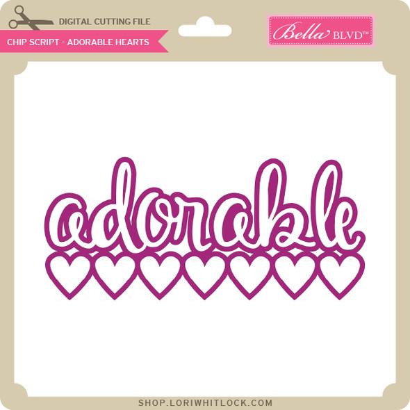 Chip Script - Adorable Hearts