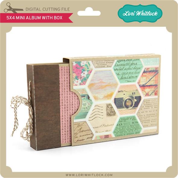 5x4 Mini Album with Box