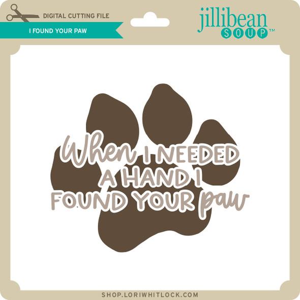 I Found Your Paw