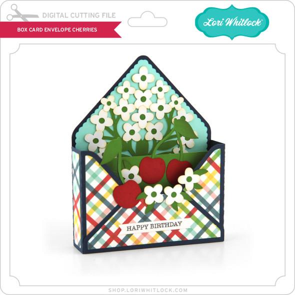 Box Card Envelope Cherries