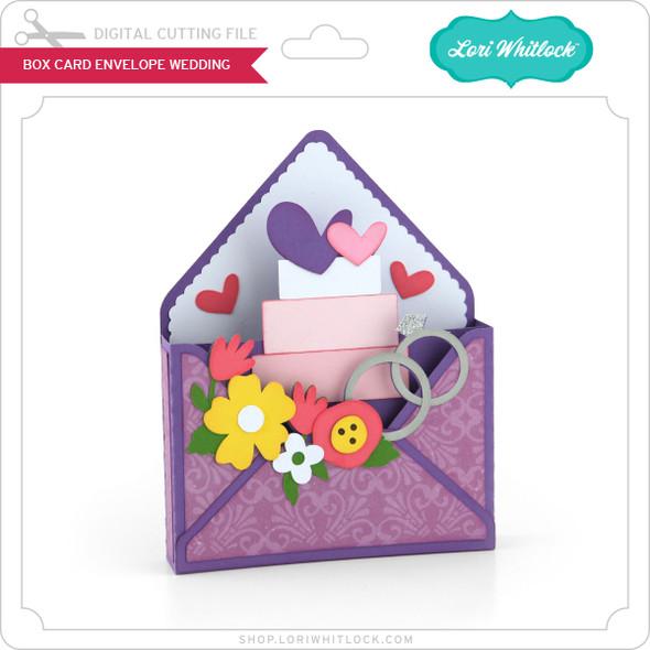 Box Card Envelope Wedding