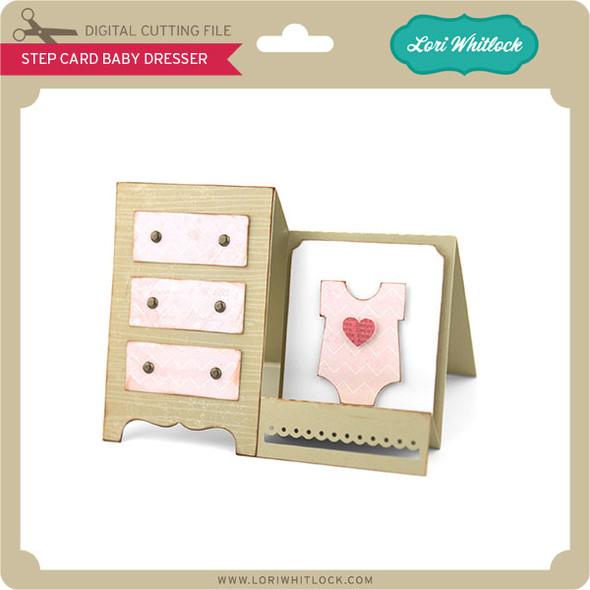 Step Card Baby Dresser