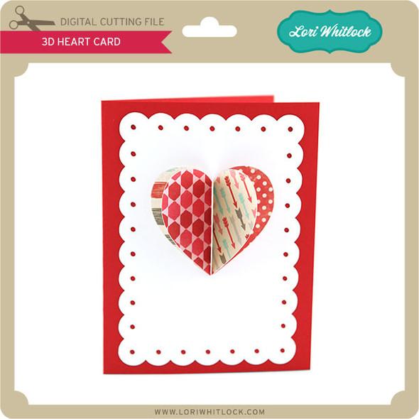 3D Heart Card