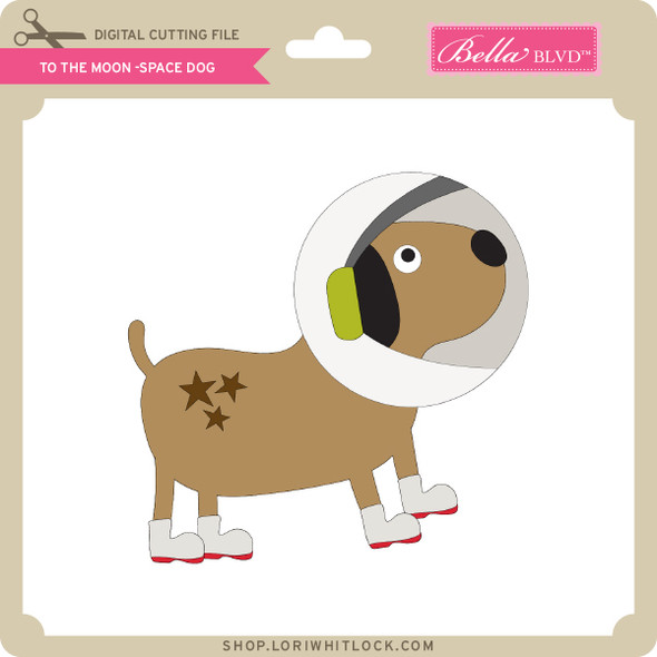 To the Moon Space Dog