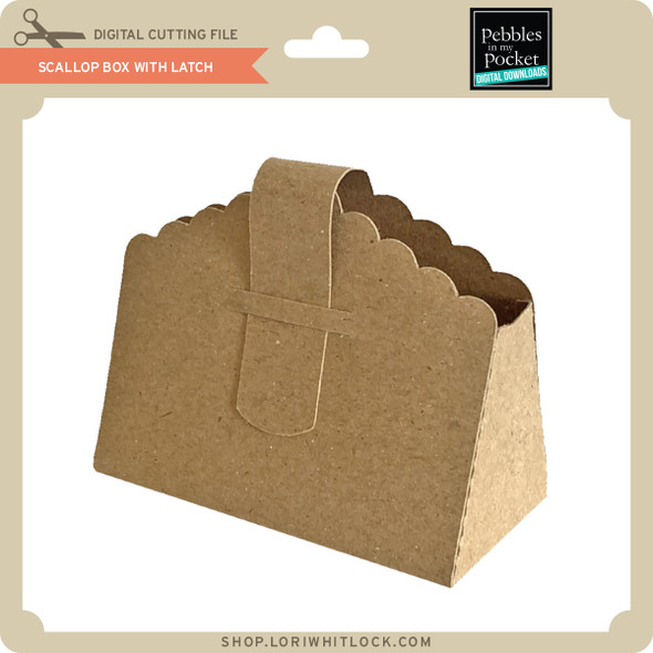 Scallop Box With Latch 2