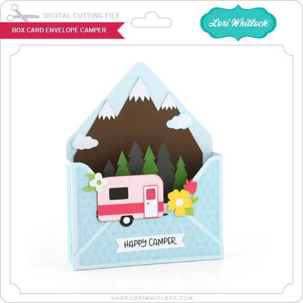 Box Card Envelope Camper