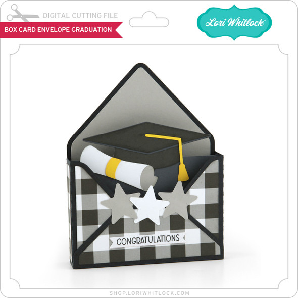 Box Card Envelope Graduation