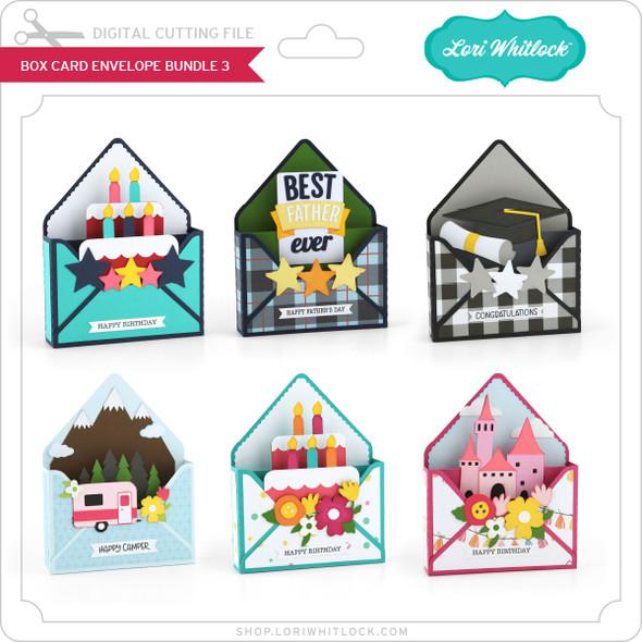 Box Card Envelope Bundle 3