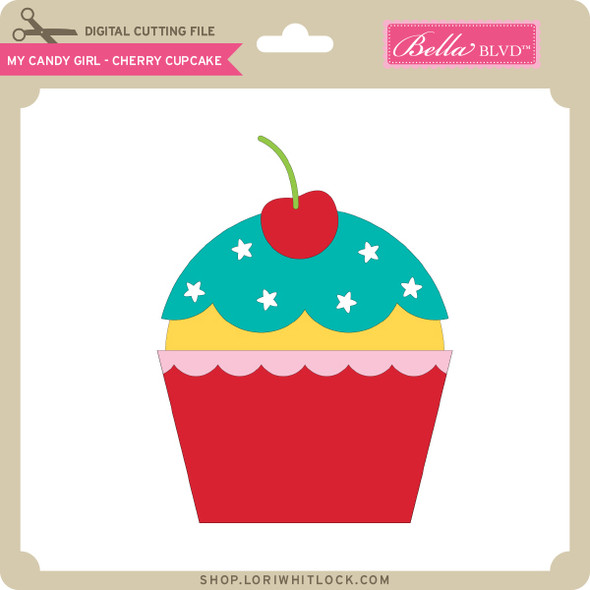 My Candy Girl - Cherry Cupcake