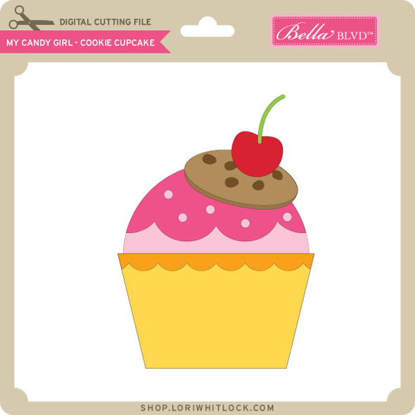 My Candy Girl - Cookie Cupcake