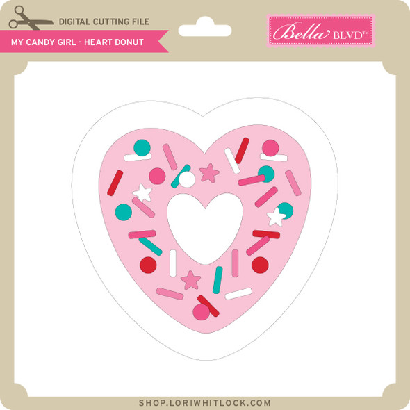 My Candy Girl - Heart Donut