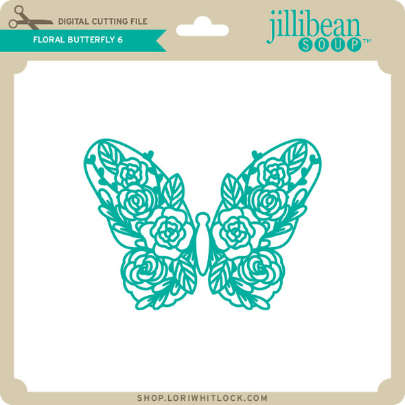 Floral Butterfly 6