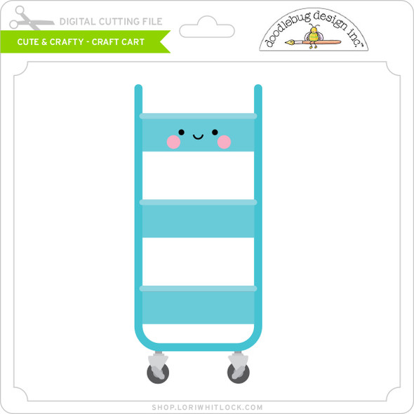 Cute & Crafty - Craft Cart
