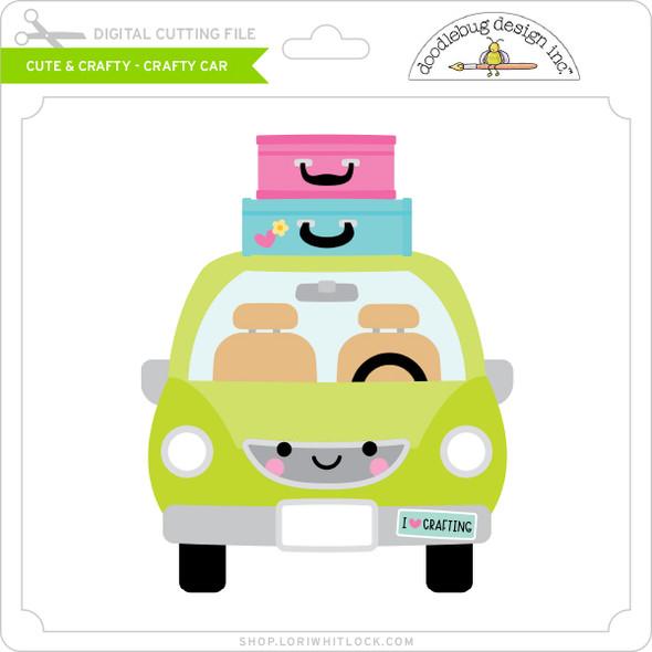 Cute & Crafty - Crafty - Car