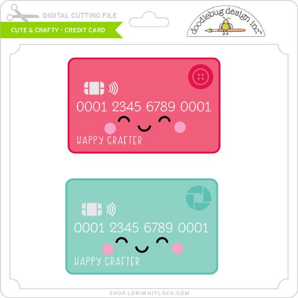 Cute & Crafty - Credit Card