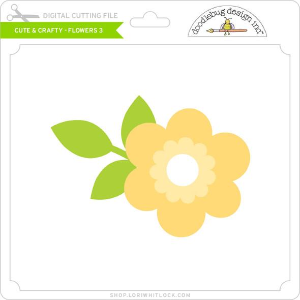 Cute & Crafty - Flowers 3