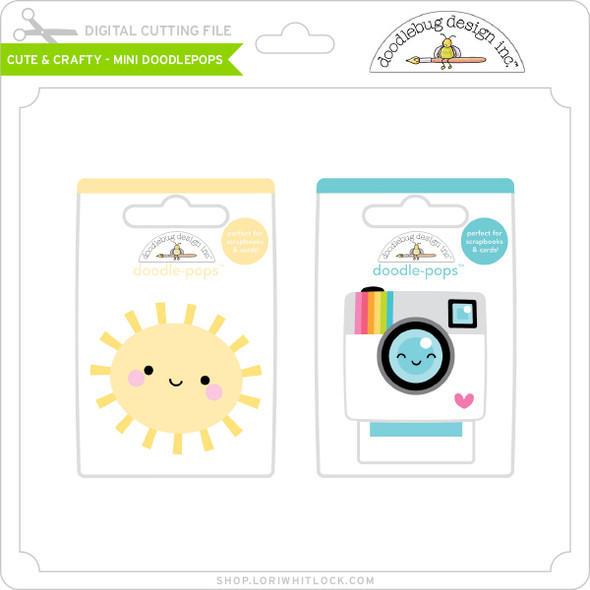 Cute & Crafty - Mini Doodlepops